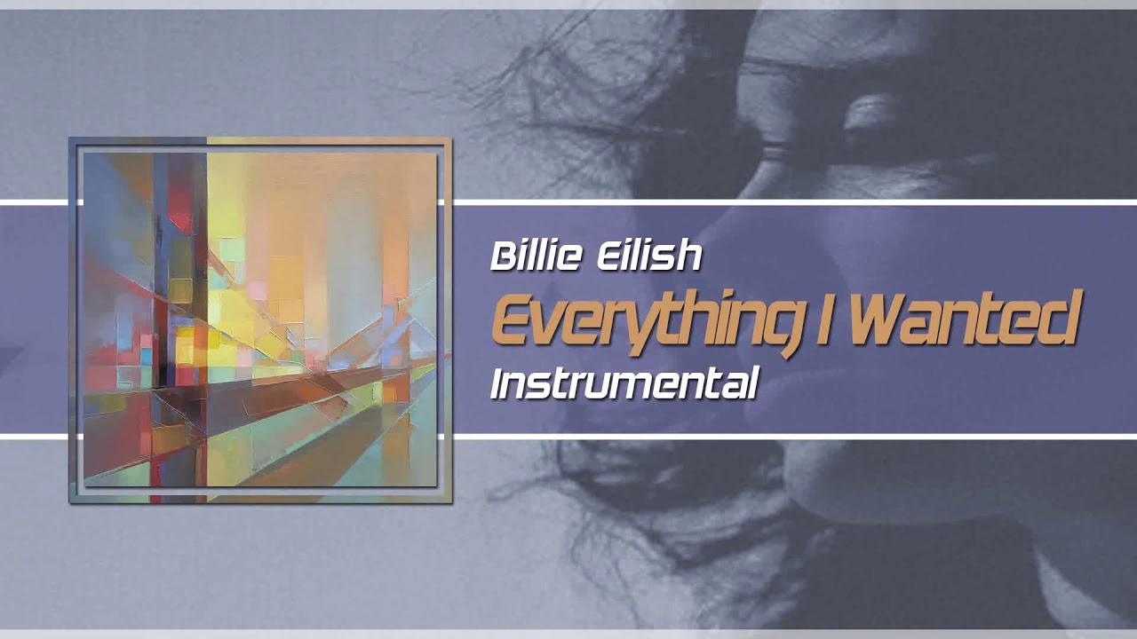 Billie Eilish - Everything I Wanted (Instrumental)